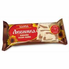 ХАЛВА СЛЪНЧ. С КАКАО 2.5КГ ЛЮБИМКА ФОЛИО /10/