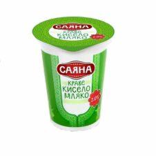 КИСЕЛО МЛЯКО САЯНА 500ГР 2% /20/