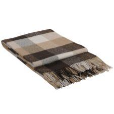 одеяло с вълна кафяво