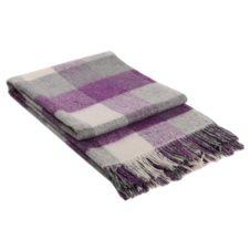 одеяло с вълна лилаво