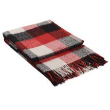 одеяло с вълна червено